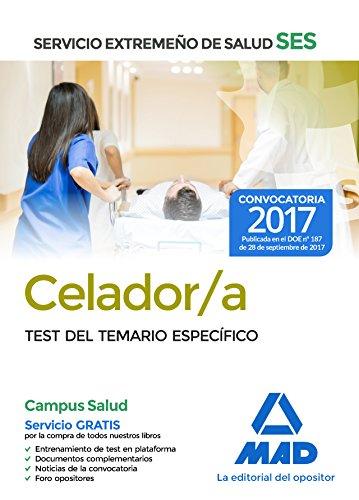 Celador del Servicio Extremeño de Salud (SES). Test parte específica por 7 Editores
