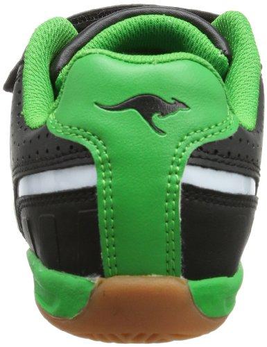 Kangaroos Hector-combo 11035, Chaussures De Sport Unisexes, Enfant Noir (schwarz (noir / Vert 508))