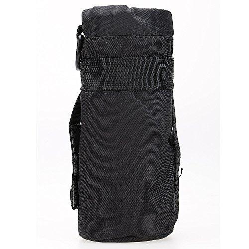 ?HuntGold Outdoor Wandern Reisen Taktisch Militärisch Wasserkocher Beutel Tasche Flaschenhalter Schwarz