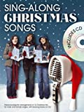 Sing-Along Christmas Songs (Book And Cd) Pvg Book/Cd: Noten, CD für Klavier, Gesang, Gitarre