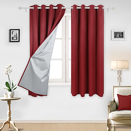 Bedroom Curtains On Amazon Small Bedroom Ideas Nyc Chalkboard Art Bedroom Bedroom Sets For Girls: Red Bedroom Curtains: Amazon.co.uk