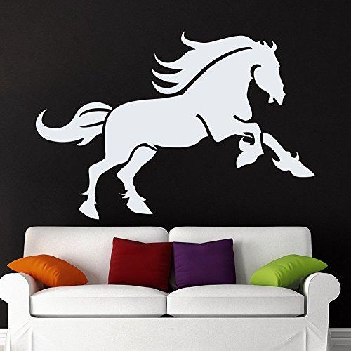 43SabrinaGill Wandaufkleber, Pferd, für Haustiere, für Kinderzimmer, Dekoration, Dekoration für Zuhause, Innenraum, Fenster-Aufkleber