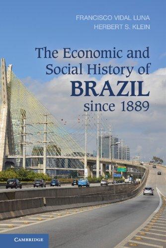 The Economic and Social History of Brazil since 1889 por Francisco Vidal Luna