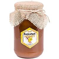 PolishFoods Miel de Alforfon con Polaco. Sin pasteurizar, miel cruda. 1,3 kg. Miel polaco directamente del apicultor.