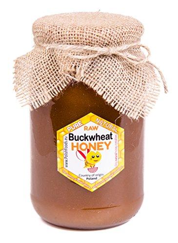 Polnisch Honig direkt vom Imker. 1,3 kg. Frisch 2017. Buchweizen Honig. Natürlich, sehr gesund, ohne Zusätze. Miod pszczeli