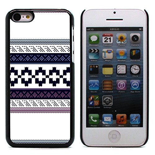 Graphic4You GLITCHY Muster Harte Hülle Case Tasche Schutzhülle für Apple iPhone 5C Design #6