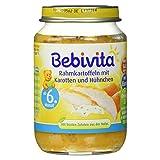 Bebivita Rahmkartoffeln mit Karotten und Hühnchen, 190 g