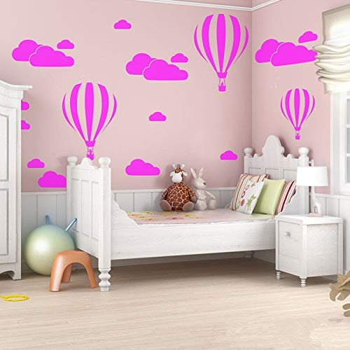 Ballon Wandaufkleber Für Kinderzimmer Vinyl Wohnkultur Kinderzimmer Dekoration Schlafzimmer DIY Removable Cartoon 42 * 30 cm ()