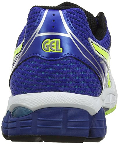 Asics Gel-Pulse 6, Chaussures de trail homme Blanc (White/Flash Yellow/Blue 107)
