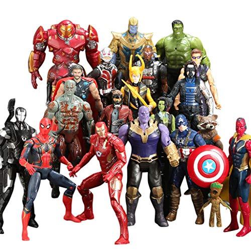 Jouet Bébés Intéressant 20pcsset TianranrtPeluches action Guerre Créative Figure Avengers Thanos Statue Petite Action Infiniti q3jASRLc54