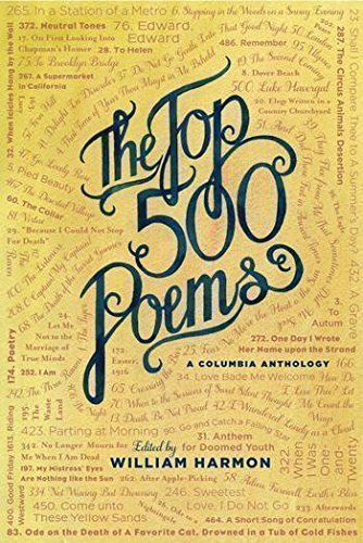 The Top 500 Poems (Columbia Anthologies) by William Harmon (1992-11-30)