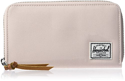 Herschel Thomas Wallet With Zipper M Black (Zipper Wallet)