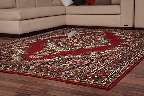Lalee 347055326 - tappeto classico stile orientale, 190 x 280 cm, colore: beige, rot, 80 x 150 cm