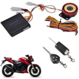 Best Motorcycle Alarm Systems - AutoSun Bike Alarm Security System Button Remote Key Review