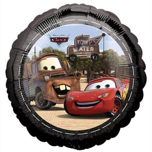 Partyrama Disney Cars Mcqueen & towmater Foil Globo de Fiesta