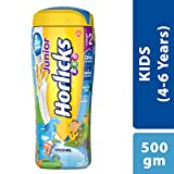 Junior Horlicks Stage 2 (4-6 years) Health and Nutrition drink - 500 g Pet Jar (Original flavor)