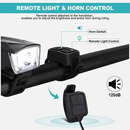 Zoom IMG-2 omeril luci led per bicicletta