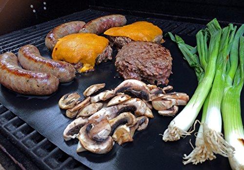 51qI%2Bv%2BIufL - Da.Wa BBQ Grill Mat - 1 Stück Non Stick Grill Mats - Essential Grillen Zubehör und BBQ Tools.