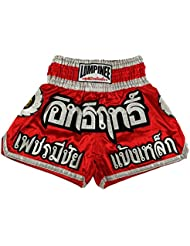 Lumpinee Muay Thai Kick Boxeo Pantalones Boxeo Tailandes : LUM-016 Talla XL
