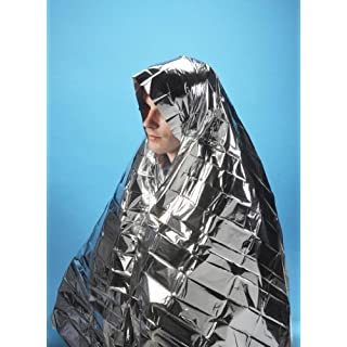 6 x Foil Survival Blanket reflective thermal first aid 1st