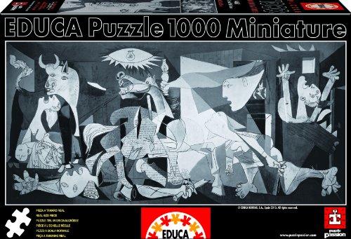 Educa 14460 1000 - Guernica - Pablo Picasso, Miniature