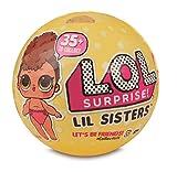 Giochi Preziosi - LOL Surprise LIL Sister Serie 3 Sfera con Mini Doll a Sorpresa, 5 Livelli, Modelli Assortiti, 1 Pezzo