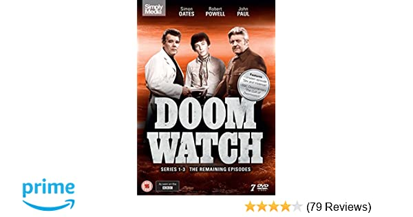 Doomwatch - Series 1-3 The Remaining Episodes DVD: Amazon co