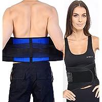 Verstellbar Neopren Doppelter Zug Lendenwirbelstütze Untere Rücken Gürtel Hosenträger Schmerzlinderung - 5XL (... preisvergleich bei billige-tabletten.eu