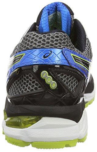 ASICS GT-2000 3, Chaussures de Running Entrainement Homme Gris (Slight White/Dark Grey 9916)