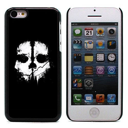 Graphic4You Pirate Flag with Skull Made of Words Design Harte Hülle Case Tasche Schutzhülle für Apple iPhone 5C Design #4