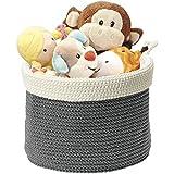 Panier organiseur tissé mDesign pour armoire de bébé. Panier pour peluches, jouets, livres - ...