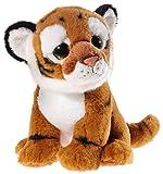Heunec 235670 Plüschtier, Tiger, Hellbraun mit Streifen