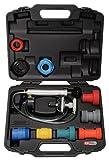 KS Tools 150.2065 Pack de 12 Piezas con Diagnosis de Sistemas de refrigeración, 12pcs Set