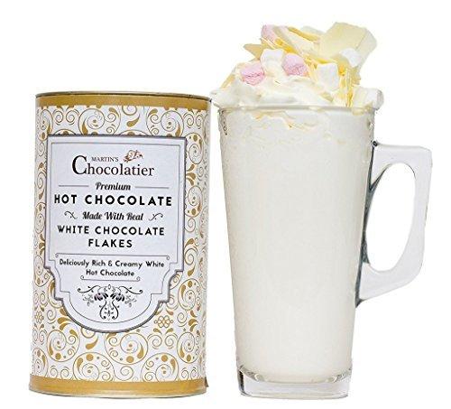 Luxus & weiße Heiße-Schokolade Geschenke-Set
