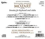 Wolfgang Amadeus Mozart: Violin Sonatas K303, 377, 378 & 403 [Alina Ibragimova; Cédric Tiberghien] [Hyperion: CDA68164]