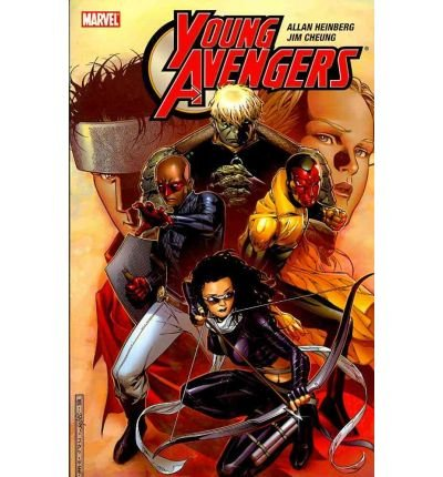 Portada del libro [(Young Avengers Ultimate Collection)] [ Illustrated by Michael Gaydos, Illustrated by Andrea DiVito, Text by Allan Heinberg, By (artist) Jim Cheung, By (artist) Neal Adams, By (artist) Gene Ha, By (artist) Jae Lee, By (artist) Bill Sienkiewicz, By (artist) Pasqual Ferry ] [July, 2010]