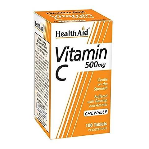 Vitamin C 500mg Chewable (Orange Flavour) 100 KauTabl. HA