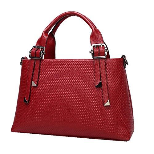Yy.f Nuove Borse Moda Big Bags Retrò Tracolla Messenger Selvaggio Borse In Rilievo Portatili Borse A Due Colori Brown