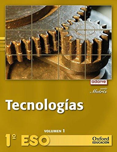Tecnologías 1º ESO Adarve Motriz Trimestral: Libro del Alumno - 9788467362862