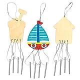 Seaside Wooden Windchimes For Children T...