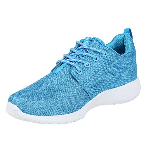 Scarpe Sportive Da Donna Plus Size Colori Alla Moda Scarpe Da Ginnastica Scarpe Da Corsa Scarpe Da Ginnastica Fitness Flandell Azzurro Bianco
