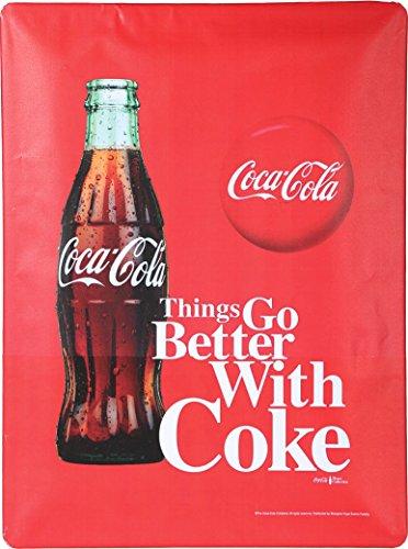 Coca Cola Schild Metall 40·30 Werbung Retro Reklame »Better with Coke« (Coca-cola-werbung Vintage)