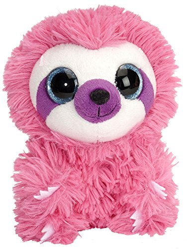 Wild republic 16890 - li'l sweet&sassy bradipo di peluche, lollipop, 13 cm