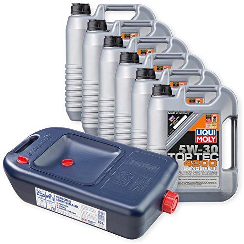 Preisvergleich Produktbild 6x LIQUI MOLY TopTec 4200 Motoröl 5W-30 5L 3707 + Kanister