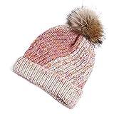 FENGLINZEKANG Frauen Strickmütze, schöne stilvolle verdickte warme Wintermütze Hut (Color : I, Größe : M)
