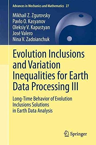 evolution-inclusions-and-variation-inequalities-for-earth-data-processing-iii-long-time-behavior-of-