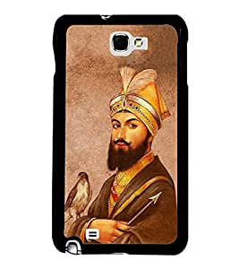 FUSON Guru Gobind Singh Ji Designer Back Case Cover for Samsung Galaxy Note N7000 :: Samsung Galaxy Note I9220 :: Samsung Galaxy Note 1 :: Samsung Galaxy Note Gt-N7000