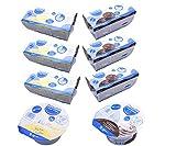 Fresubin 2 kcal Creme Schokolade + Vanille 2 Sorten Mischkarton insgesamt 24 x 125g (3x Schokolade 4x125g und 3x Vanille 4x125g) - Im ConsuMed Produktbundle