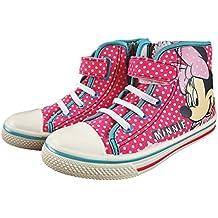 07b9953dfcdb0 Anther Zapatillas Botitas Estar por casa Infantiles Minnie Disney Color  Rosa con Velcro