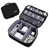 Findema Multifunktions-Digital-Aufbewahrungstasche Portable Travel Organizer Kit für USB-Datenkabel/Kopfhörer/Wire Pen/Power Bank Perfect Choice